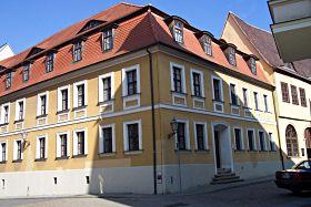 In diesem Haus wurde Georg Friedrich Händel im Jahre 1685 als Sohn eines Wundarztes geboren