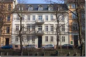 Wohnhaus von Luckner in Halle, Universitätsring 13